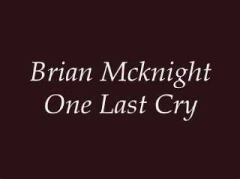 One Last Cry Guitar