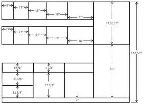 Standard Depth Of Kitchen Cabinets Standard Kitchen Cabinet Sizes Floor Plan Ideas