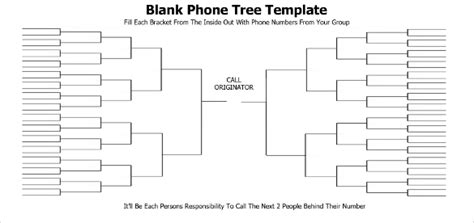 Printable Phone Tree Template 15 Free Word Excel Pdf Format Download Free Premium Printable Phone Tree Template