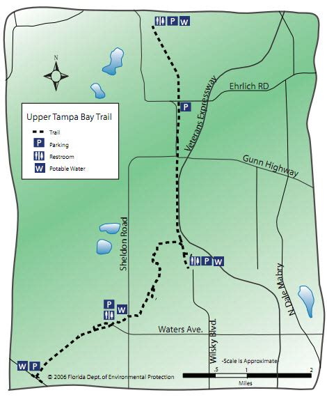 ta bay bike trail map