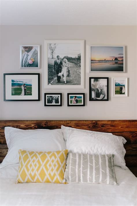 bedroom picture frames 17 best images about gallery walls or wall collages on photo walls wall galleries