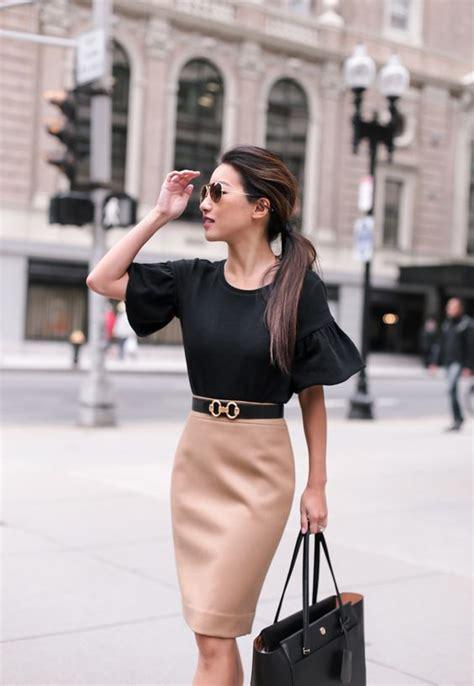 outfits elegantes  modernos  ir  la oficina