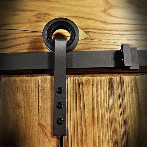 barn door rail system barn door hardware slide rail system for sliding door