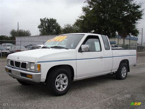 gray nissan truck 1996 cloud white nissan hardbody truck xe extended cab