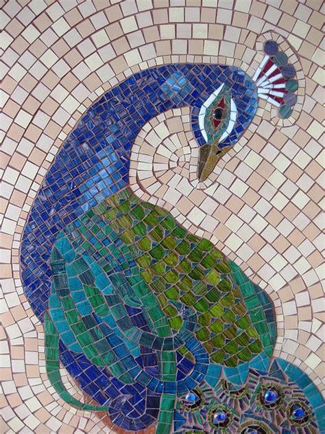 mosaic pattern peacock mosaic peacock mosaic pinterest
