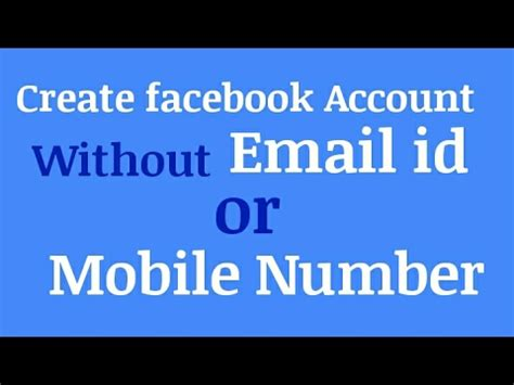 email without phone number how to use a fake email for register a facebook account