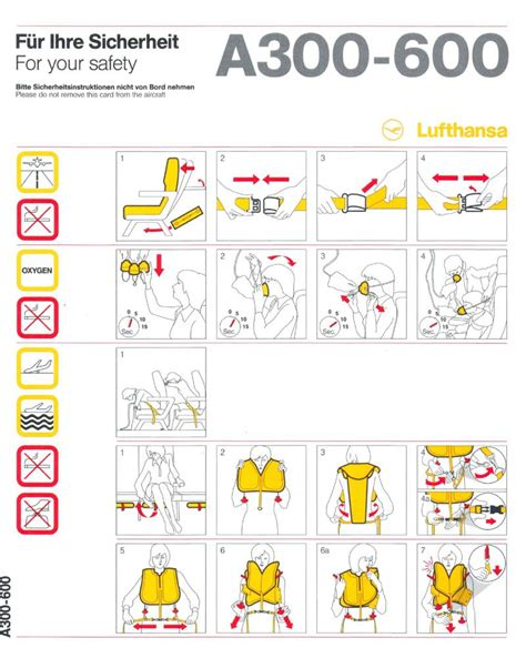Infographic Design For Your Safety On Airplane