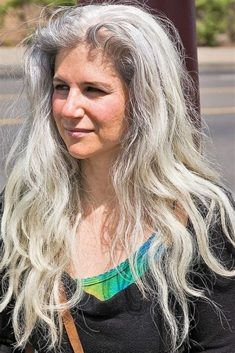 long grey hairstyles women 50 beauty without within women 50 or 60 or 70 or part 2