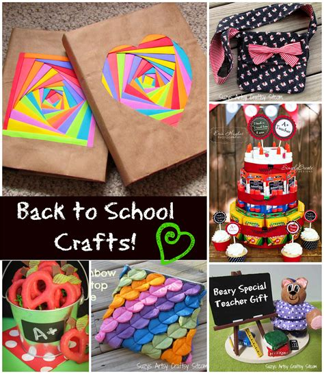 crafts for school to make back to school crafts