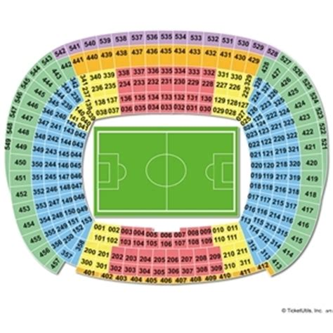 c nou stadium seat map pin barcelona seating chart on