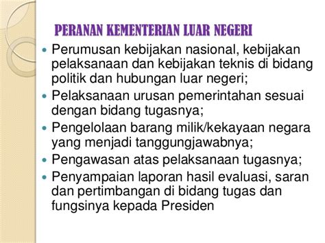 Politik Luar Negeri Indonesia Dan Isu Keamanan Energi kesan penentuan dasar hubungan malaysia dgn negara luar lya