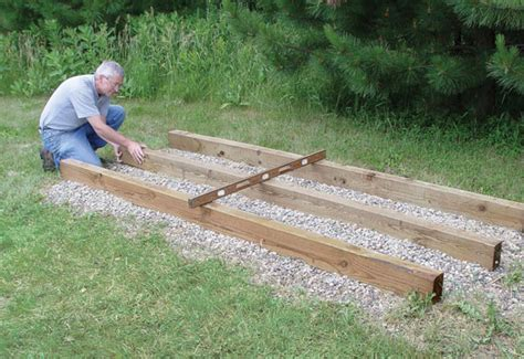 Keeping Landscape Timbers In Place Solar Kiln Popular Woodworking Magazine