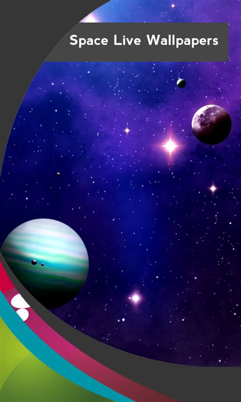 best space live wallpapers android new space live wallpapers free android app android freeware