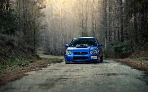Car Wallpaper Road by Subaru Impreza Wrx Sti Car Road Hd Wallpaper Wallpaper Wiki