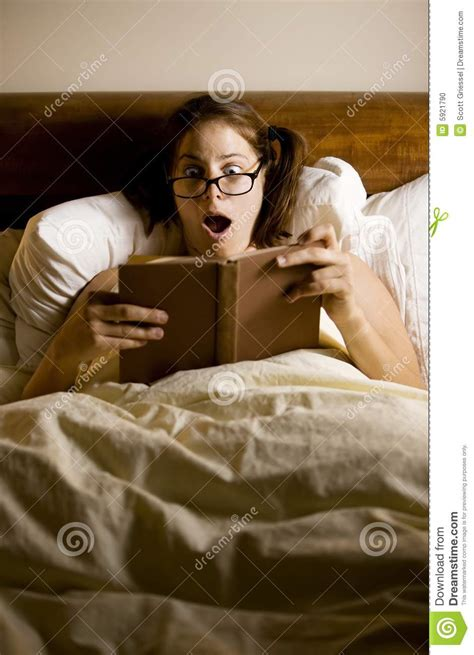 reading in bed woman reading in bed stock photo image 5921790