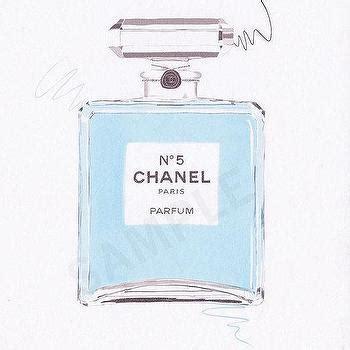 Jual Parfum Blue Chanel ombre chanel perfume print waiting on martha