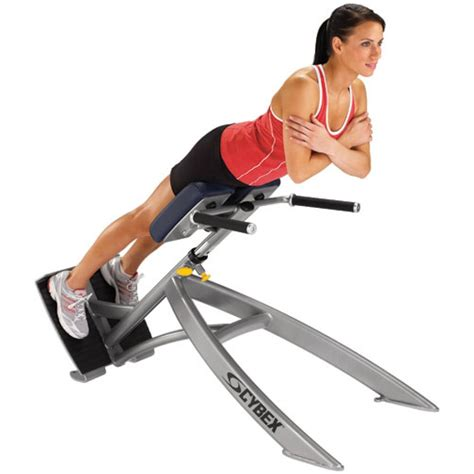 45 degree back extension bench cybex 45 degree back extension gym source