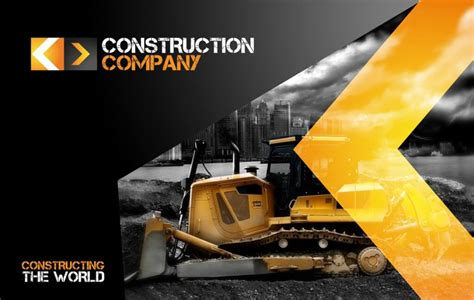 80 Modern Stationery Templates Design Shack Templates For Construction Companies