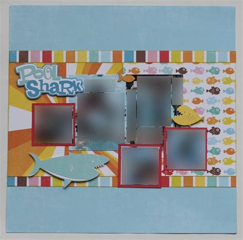 scrapbook layout craft 100 best images about shark week crafts on pinterest