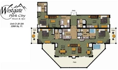 Bedroom Layout Planner luxurious westgate penthouse ski in ski out the best
