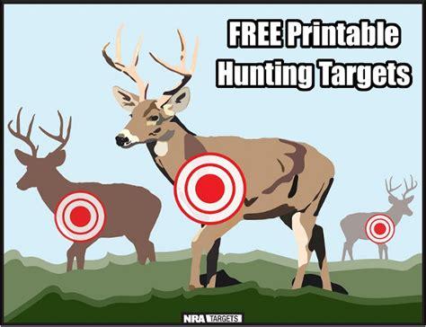 printable animal targets free printable hunting practice targets 171 daily bulletin