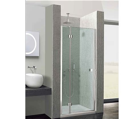 Shower Door 700mm Simpsons Design Hinged Shower Door 700mm With Inline Panel