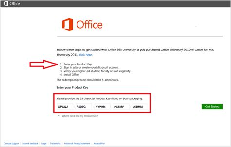 microsoft office product key windows productkey