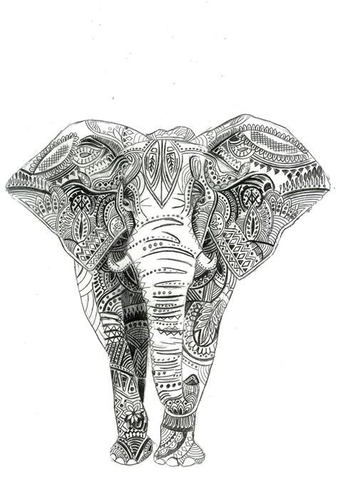 indian tattoos tumblr indian elephant tattoos www pixshark images