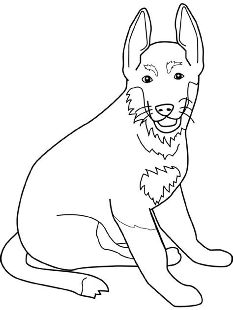 dog ears coloring page dog color pages printable dogs coloring pages german