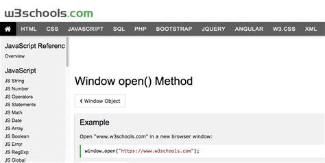 javascript tutorial open new window how to open a link in a new window using javascript