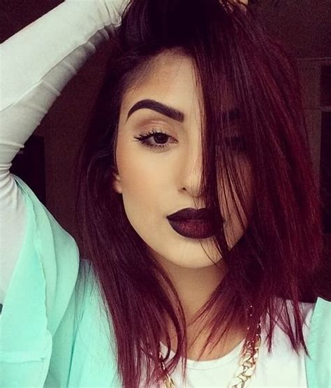 hair color of the year 2015 14 sultry ways to wear marsala 2015 color of the year