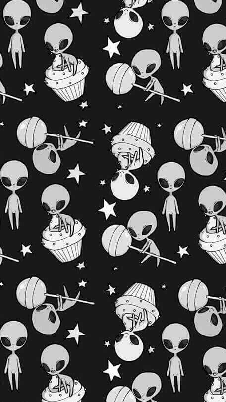 alien pattern tumblr 25 melhores ideias sobre papel de parede celular no