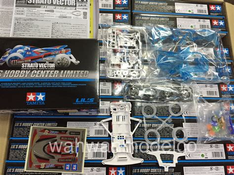 tamiya 92352 strato vector clear blue special
