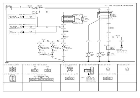 rx8 horn wiring diagram 28 images mazda 3 clutch fuses