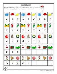 pattern recognition letters sjr free printable christmas math worksheets pre k 1st grade