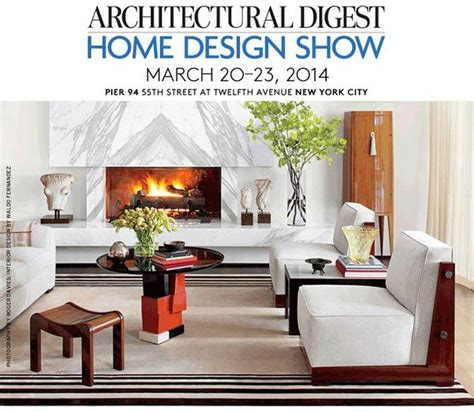 architectural digest home design show in new york city architectural digest home design show new york 20 23