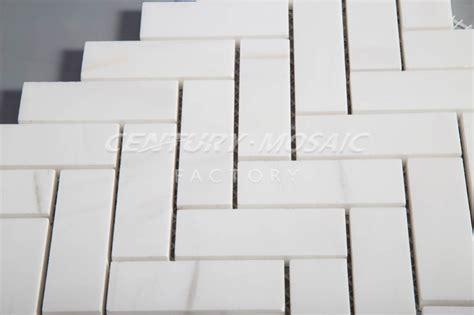 carrelage adhésif cuisine 1799 mosaique hexagonale blanche
