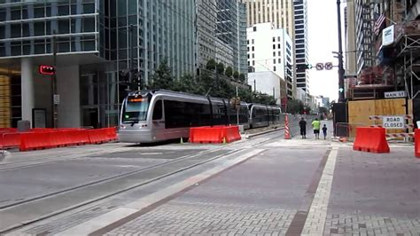 houston light rail new construction and rolling stock 8