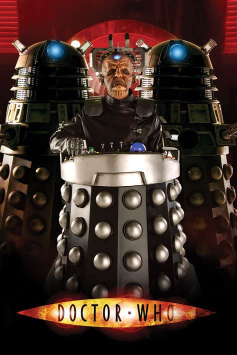 doctor  davros poster sold  europosters