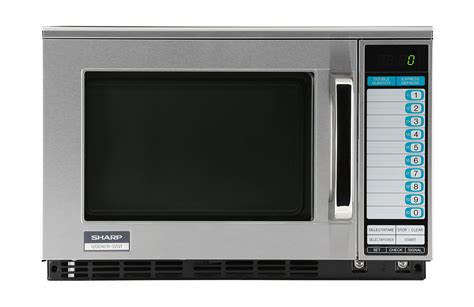 Microwave Sharp R 249 In r 22gtf commercial microwave commercial appliances sharp