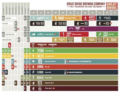 Release Calendar Great Divide Brewing 2017 Release Calendar