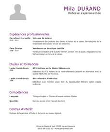 Exemple De Lettre De Motivation Caissiere Vendeuse Exemple De Cv Caissi 232 Re