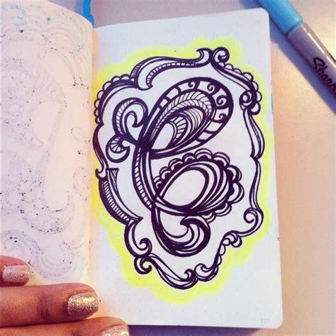 doodle c lettering daily doodle alphabet c