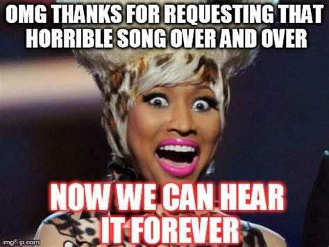 Nicki Minaj Meme - happy minaj meme imgflip