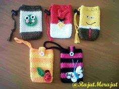 Kotak Pensil Atau Pouch Hp fundas movil crochet on nook cases cellphone and cell phone covers