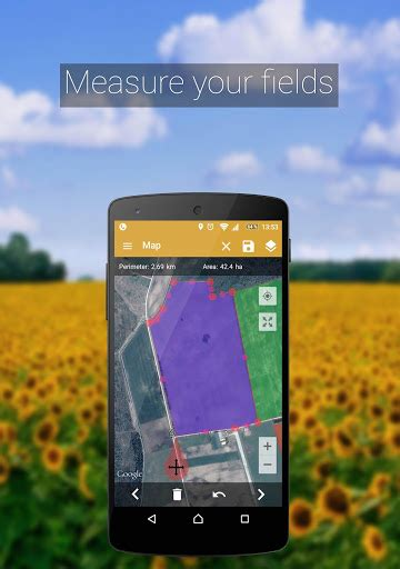 measuring app for android gps fields area measure adfree app for android