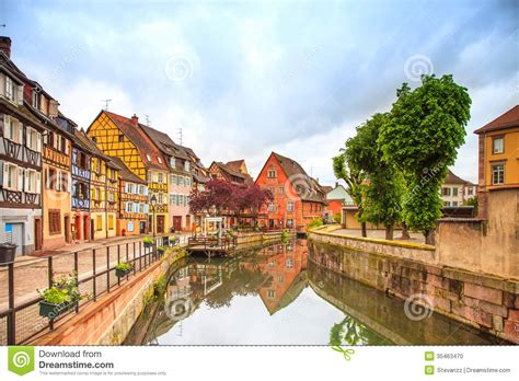 Little House Plans Free colmar petit venice water canal and traditional houses