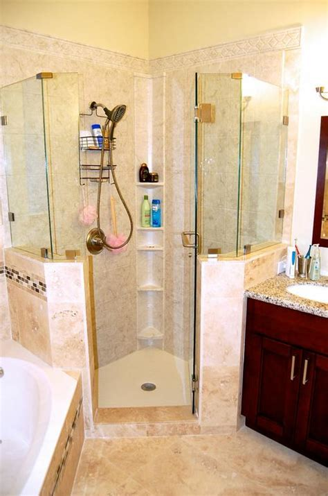 bathroom remodel miami miami bath remodeling travertine and acrylic shower jpg from one day bathroom