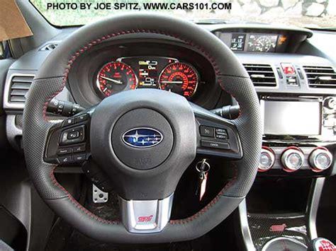 subaru impreza steering wheel 2016 subaru wrx and sti research spec page options