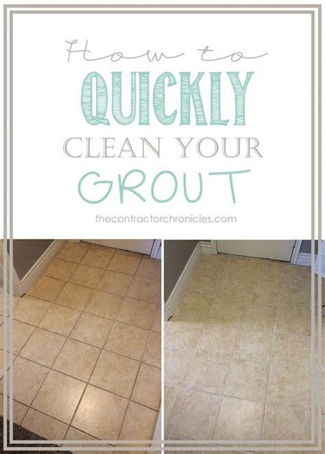 clean bathroom tiles best 25 tile grout ideas on pinterest